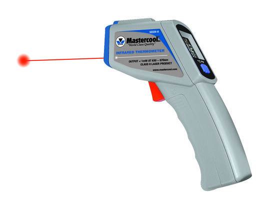 Laser termometer